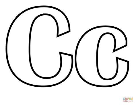 c color dibujo de letra c para colorear dibujos para colorear