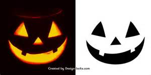 10 easy halloween pumpkin carving stencils patterns