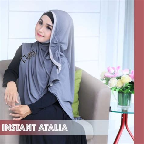 Jilbab Instant Atalia jilbab one step atalia by flow idea