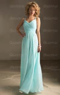 light blue chiffon bridesmaid dress with strapscherry marry cherry marry