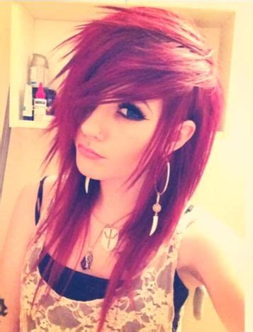 emo hairstyles without fringe image gallery scene bangs