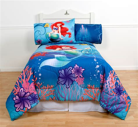 mermaid twin bedding disney magical mermaid comforter twin full