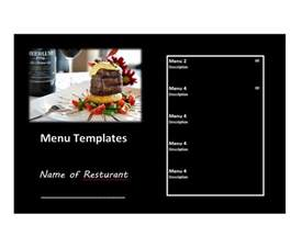 Html Menu Template by 31 Free Restaurant Menu Templates Designs Free