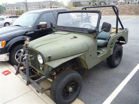 Willys Jeep Cj5 For Sale 1956 Willys Cj5 For Sale