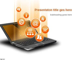 free internet powerpoint template