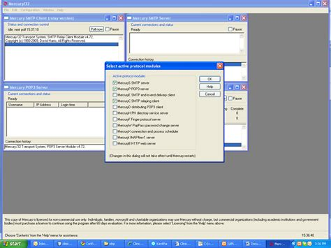 Configure Xp Mercury Mail | spreading knol configuring mercury mail server in windows