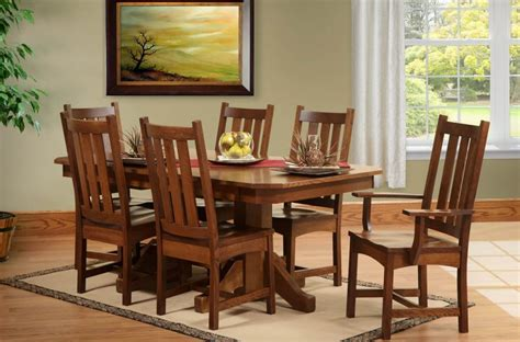 san antonio butterfly leaf table set countryside amish furniture