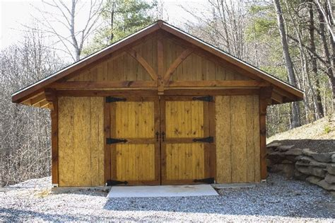 Post And Beam Sheds by Small Post And Beam Barn Shed Image 1 I A