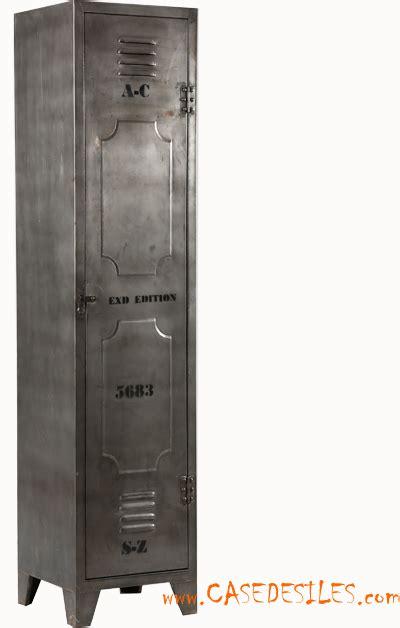 armoire style industriel pas cher vestiaire industriel acier casier armoire 1840