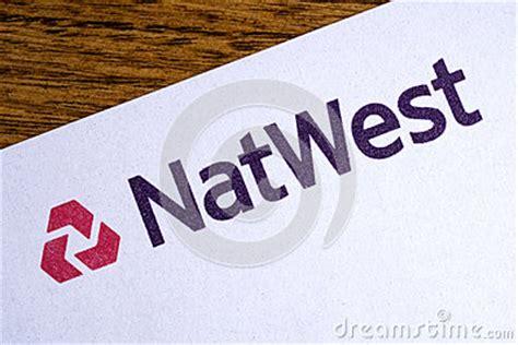 Natwest Bank Letterhead Natwest Bank Logo Editorial Image Cartoondealer 84185954
