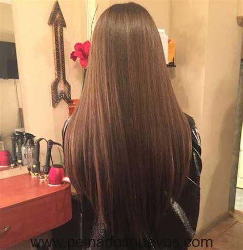 pelo corte en v cortes de pelo largos en forma de v que todas las mujeres