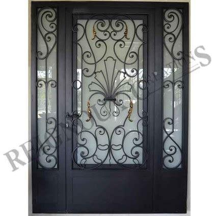 Decoration Des Portes En Fer by Portes D Entr 233 E Fer Forg 233 Ferronerie D Maison