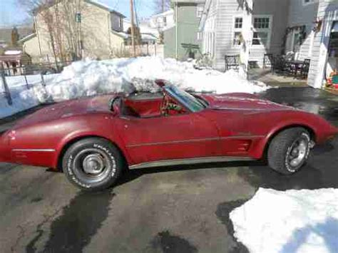 Find Used 1975 Chevrolet Corvette Convertible Loaded S Matching A C 4 Speed In Find Used 1975 Chevrolet Corvette Convertible Matching Numbers In East Hton Connecticut