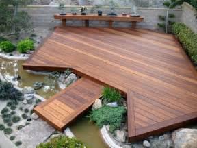 Concrete Bench Prices - japanese garden deck asian deck san diego by sd
