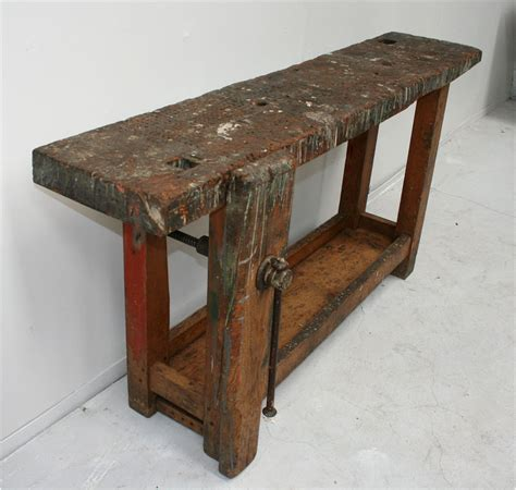 small work benches petite french workbench haunt antiques for the modern