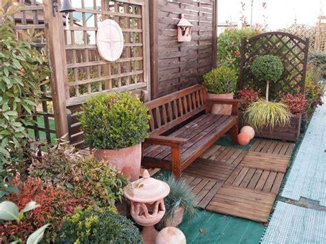 idee per arredare terrazzo fai da te giardino casa progettazione giardini creare il