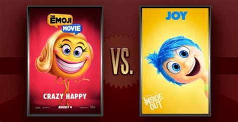 film star emoji matchup of the day the emoji movie vs inside out