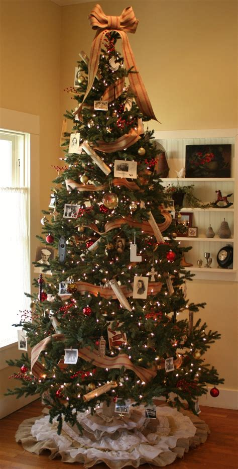 Vintage Christmas Tree vintage christmas tree the rescued home