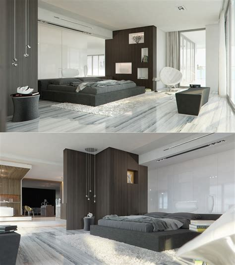 marble bedroom sleek bedrooms with cool clean lines