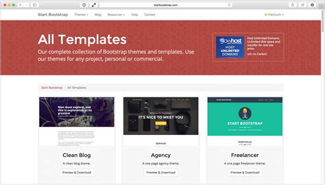 bootstrap themes reddit all free bootstrap themes templates start bootstrap