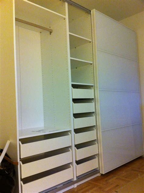 Drawers For Inside Closet by Ikea Pax Wardrobe With Drawers White Ikea Pax Wardrobe