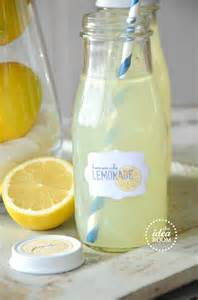 home made lemonade lemonade gift kit and printables the idea room
