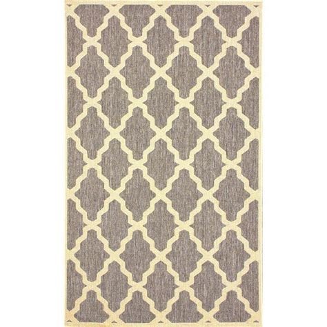 trellis print rug nuloom moroccan trellis grey 9 ft x 12 ft outdoor area rug owdn06f 9012 the home depot