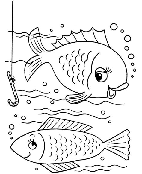 coloring book views free printable fish coloring pages for