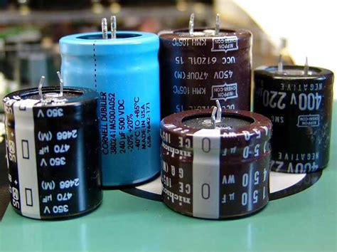 what are large capacitors used for capacitors tubelab