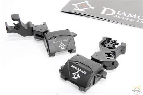 diamondhead d45 swing sights new diamondhead d 45 pop up sights firespeed tactical