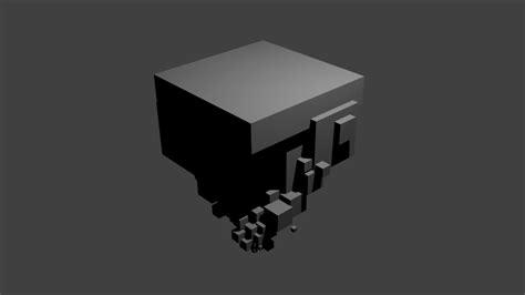 simple voxel floating island blender 3d youtube nicole montecillo