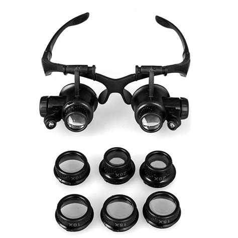 magnifying goggles with light aliexpress com buy magnifying glasses resin lupa 10x 15x