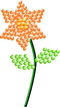 fiori con le perline tutorial fiori di perline con inkscape