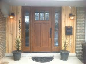 Front Door Window Treatments Ideas - front doors contemporary entry detroit by fingerle lumber