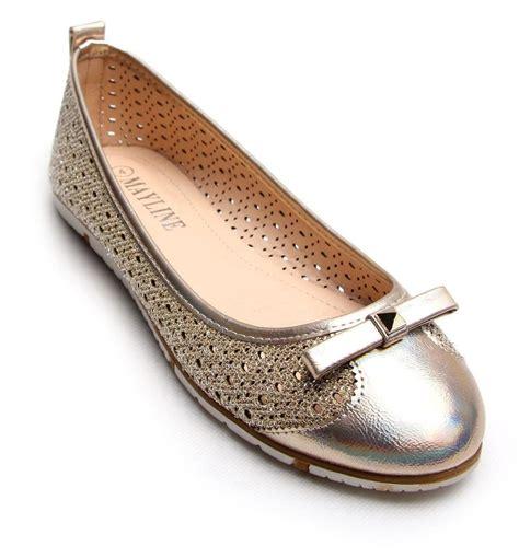 cut out shoes flats womens ballet laser cut out dolly flats shoes