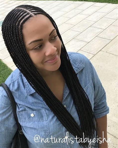 long braids part in middle don t know what to do with your hair check out this