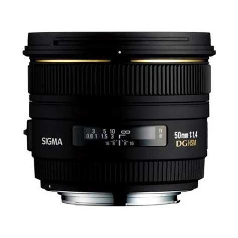 Sigma 50mm F1 4 Ex Dg Hsm jual sigma 50mm f1 4 ex dg hsm harga dan spesifikasi