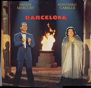 barcelona queen lyrics freddie mercury montserrat caball 233 barcelona vinyl