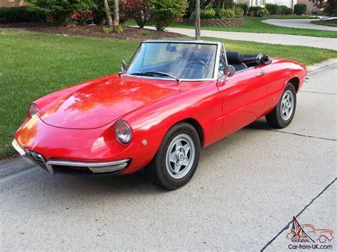 1969 Alfa Romeo by Alfa Romeo 1969 Duetto 1300 Junior Spider Low Reserve