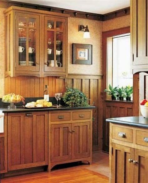 mission kitchen cabinets for the home