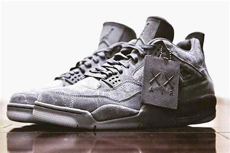 Air Retro 4 X Kaws Premium Quality 1 the kaws x air 4 has leaked sneaker freaker
