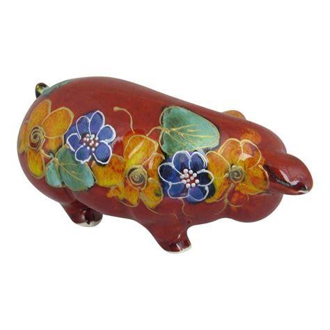 Small Pig Garland Design Anita Harris Art Pottery   Stoke