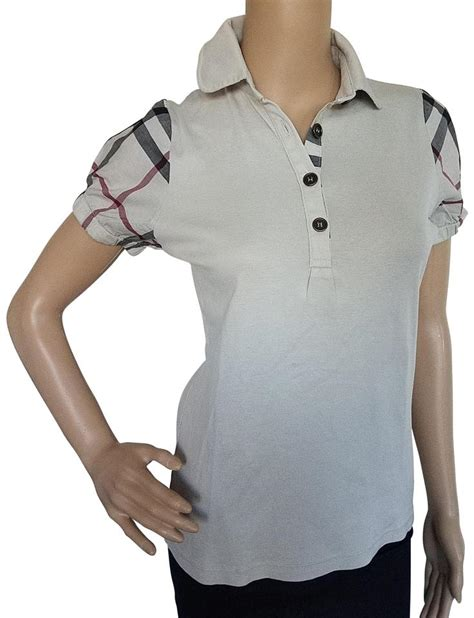 Burberry Polo Size M burberry beige black exploded check print polo m shirt size 8 m tradesy