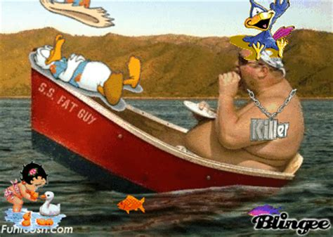 that boat guy s s fat guy picture 91146183 blingee
