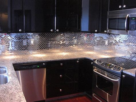 mirrored backsplash tile mirrored backsplash backsplash for kitchen or bathroom