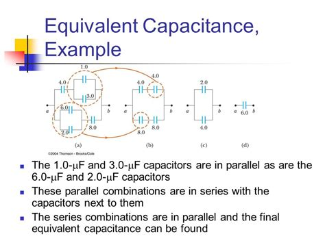 energy stored in two capacitors in series capacitance and dielectrics ppt