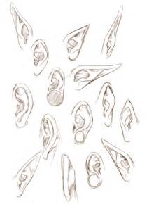 How To Draw Ear Ears By Jinx On Deviantart