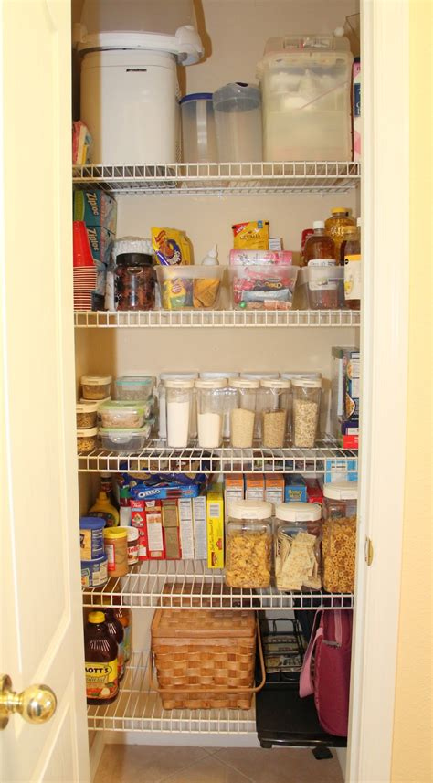 Pantry Worker by 52 Week Challenge Organizing The Pantry