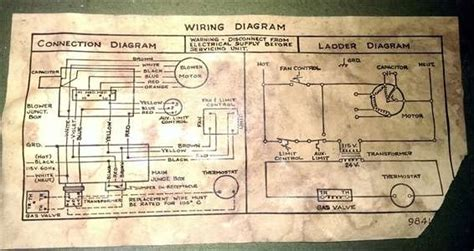 tempstar furnace diagram tempstar gas furnace wiring