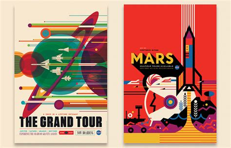 nasa design poster nasa s space tourism posters will make you want to suit up